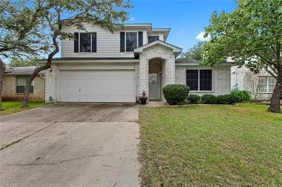 Cedar Park Single Family Home Pending - Taking Backups: 1715 Fairweather Way
