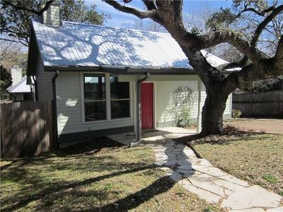 Travis County Single Family Home For Sale: 214 Krebs Ln #B