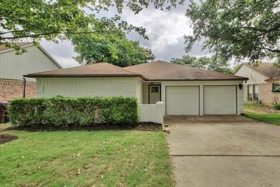 Round Rock Single Family Home For Sale: 2317 Windsong Trl