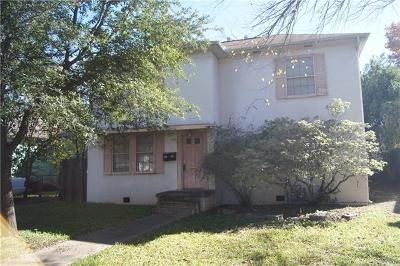 Single Family Home For Sale: 4417 Rosedale Ave