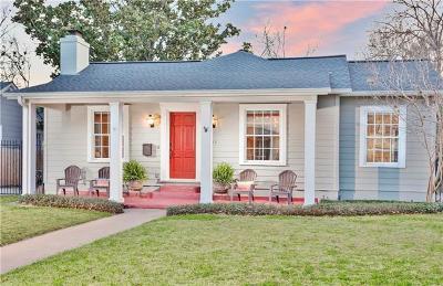 Austin Single Family Home Pending - Taking Backups: 1611 Westover Rd