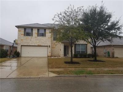 Leander Single Family Home For Sale: 444 Falcon Ln