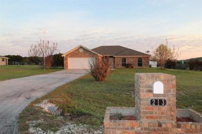 Kempner Single Family Home For Auction: 213 County Road 4709