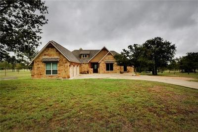 Lockhart Single Family Home Pending - Taking Backups: 810 Spanish Oaks Blvd