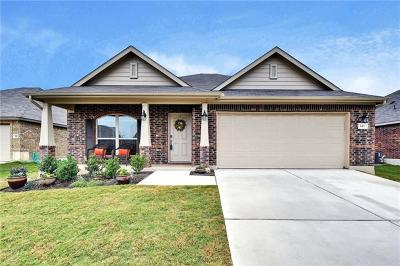 Hutto TX Single Family Home For Sale: $227,500