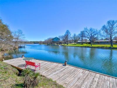 Horseshoe Bay Single Family Home For Sale: 126 Lakeshore Dr