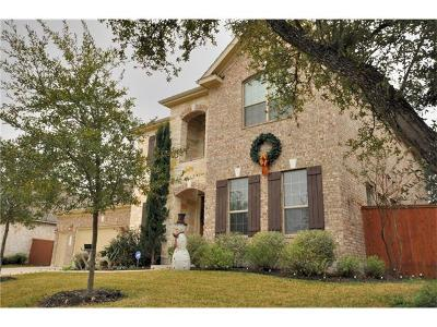 Cedar Park Single Family Home For Sale: 3818 Remington Rd