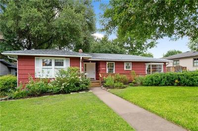 Austin Single Family Home For Sale: 2203 Westover Rd