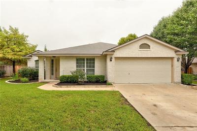 Round Rock Single Family Home Pending - Taking Backups: 1402 Yogi Berra Cv