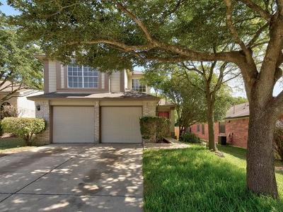Round Rock Single Family Home For Sale: 1800 Chinati Mountain Trl