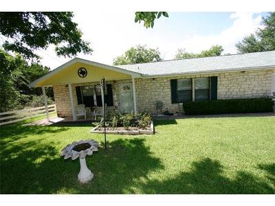 Lago Vista Single Family Home Pending - Taking Backups: 8120 Bronco Ln