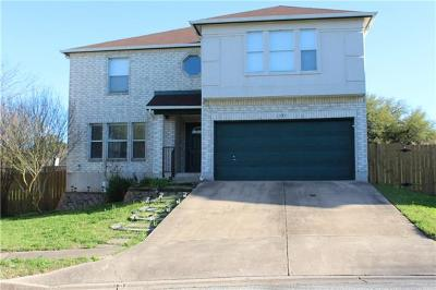 Round Rock  Single Family Home For Sale: 1193 Southern Pl