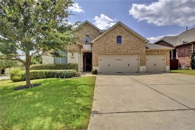 Cedar Park Single Family Home For Sale: 1501 Ambling Trl