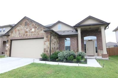 Jarrell Single Family Home For Sale: 128 Igneous Ln