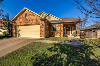 Round Rock Single Family Home For Sale: 1614 Westmeadow Trl