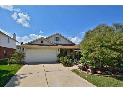 Hutto Single Family Home Pending - Taking Backups: 100 S Creek Bend Dr