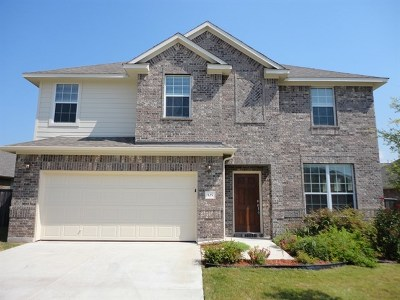 Round Rock Rental For Rent: 125 Snowflake Dr