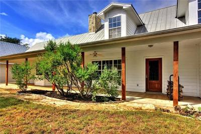 Dripping Springs TX Single Family Home For Sale: $625,000