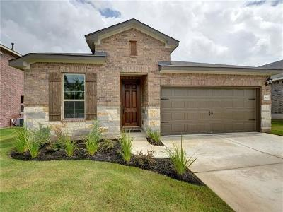 Round Rock Single Family Home For Sale: 2500 Hat Bender Loop