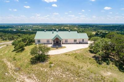 Dripping Springs Single Family Home For Sale: 160 Brady Pass