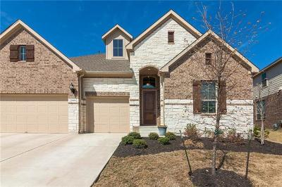 Pflugerville Single Family Home For Sale: 20508 Fairleaf St