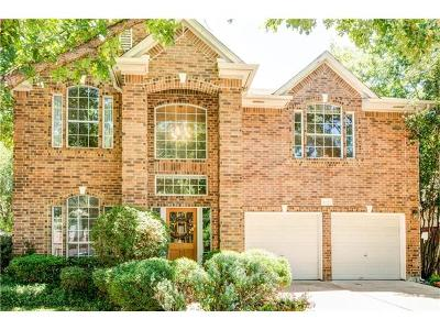 Round Rock Single Family Home For Sale: 4030 Honey Bear Loop