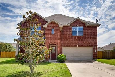 Hutto Single Family Home For Sale: 1104 Canoe Cv