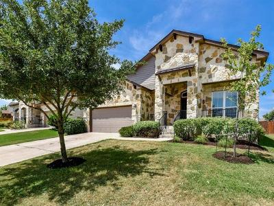 Round Rock Single Family Home For Sale: 209 Nick Faldo Trl