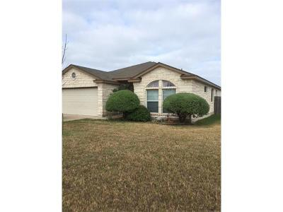 Hutto Single Family Home Pending - Taking Backups: 331 Wimberley St