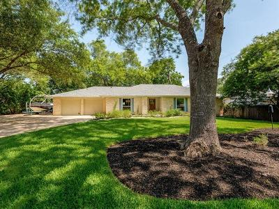 Round Rock Single Family Home For Sale: 606 S Lake Creek Dr