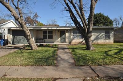 Austin Single Family Home For Sale: 204 W Croslin St