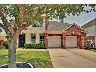 Cedar Park Single Family Home Pending - Taking Backups: 3128 Fiorellino Pl