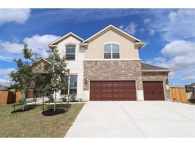 Round Rock Single Family Home For Sale: 3201 Vasquez Pl