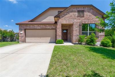 Round Rock Single Family Home For Sale: 1231 Hyde Park Dr