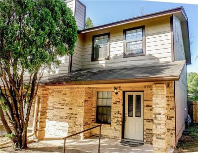 Hays County, Travis County, Williamson County Condo/Townhouse For Sale: 7800 Northcrest Blvd #306