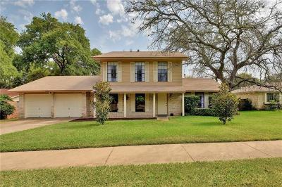 Austin Single Family Home For Sale: 10600 Hard Rock Rd