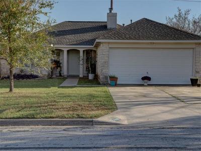 Leander Single Family Home Pending - Taking Backups: 1706 Southcreek Dr