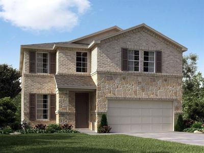Round Rock TX Single Family Home For Sale: $349,990
