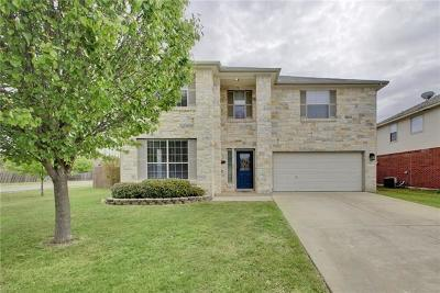 Hutto Single Family Home Active Contingent: 130 Gainer Dr