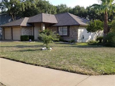 Travis County, Williamson County Single Family Home Pending - Taking Backups: 12401 Cassady Dr