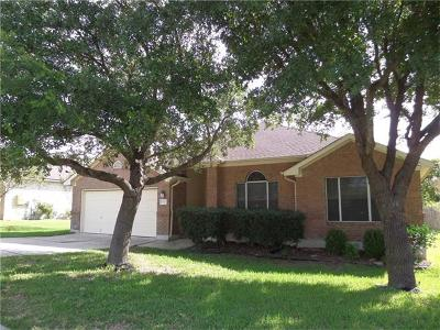 Pflugerville Single Family Home For Sale: 403 Plumbago Dr
