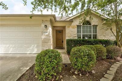 Round Rock Single Family Home For Sale: 336 Hidden Brook Ln