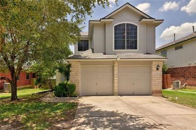 Round Rock Single Family Home For Sale: 17408 Valentine Dr