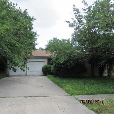 Killeen Single Family Home For Auction: 1100 Cedar Dr