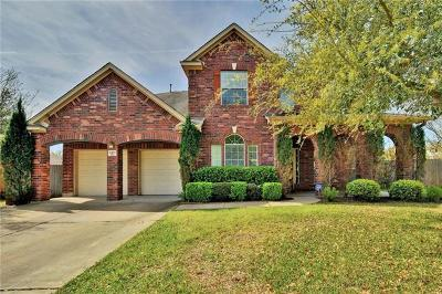 Round Rock Single Family Home For Sale: 4430 Pasada Ln