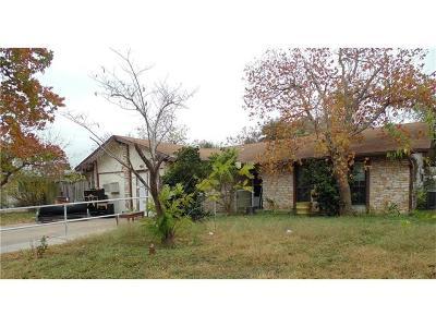 Travis County Single Family Home For Sale: 201 E Grady Dr