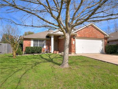 Austin Single Family Home Pending - Taking Backups: 12020 Battle Bridge Dr