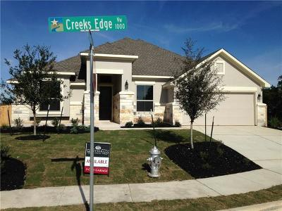 Leander Single Family Home For Sale: 1069 Creeks Edge Vw