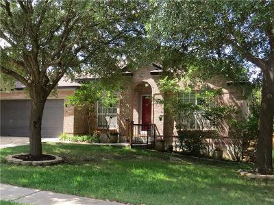 Cedar Park Single Family Home For Sale: 1703 Hillcrest Dr