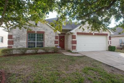 Hutto Single Family Home Pending - Taking Backups: 302 Peaceful Haven Way